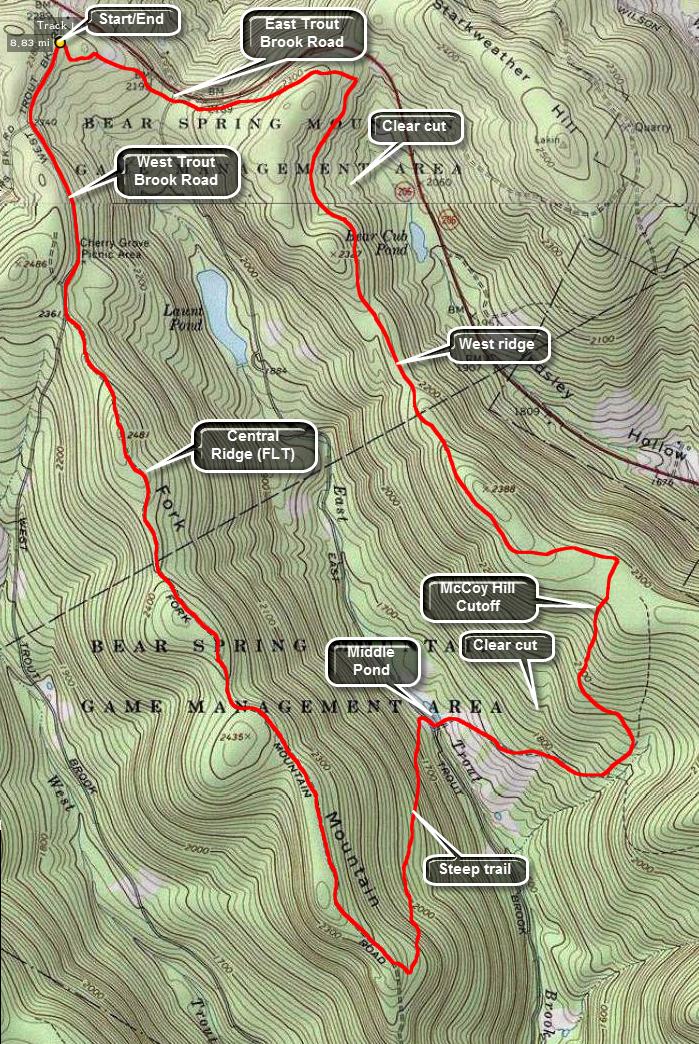 Trail Ridge Road Map Blue Ridge Center For Environmental