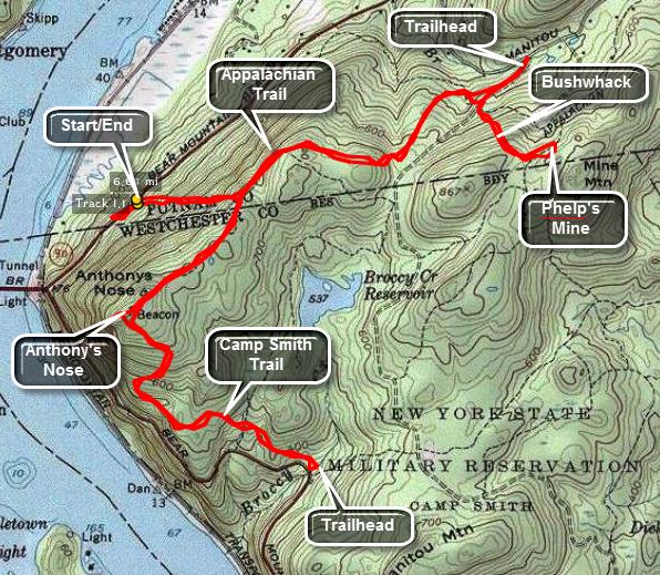 Catskill Hiker: East Hudson Trails