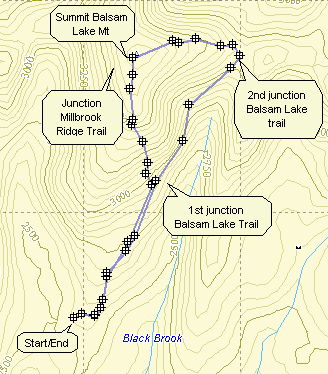 Catskill Hiker: Balsam Lake Mountain on map of lake winnebago, map of lake michigan, map of shawano lake, map of lake joseph, map of utah lake, map of lake superior, map of lake minocqua, map of woman lake, map of lake pend oreille,