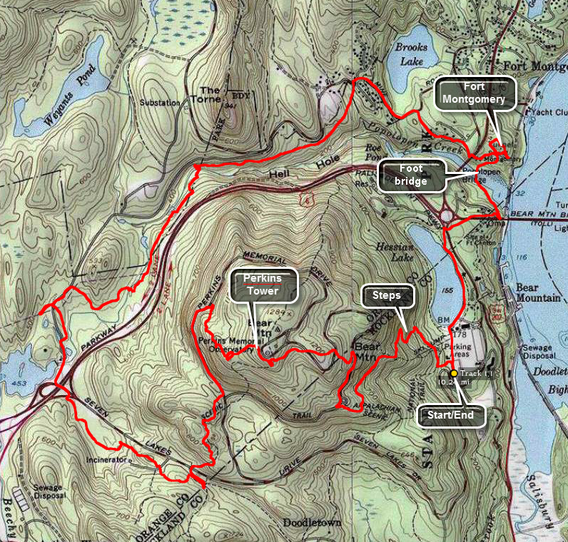 Catskill hiker trails link to topo map publicscrutiny Choice Image
