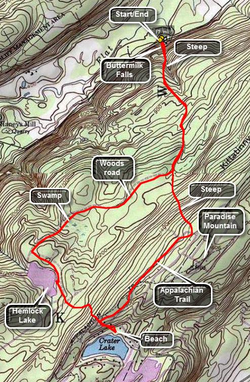 Catskill Hiker: New Jersey Trails on