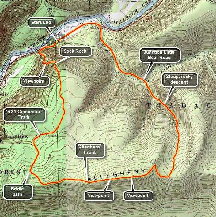 Catskill Hiker: Other Trails