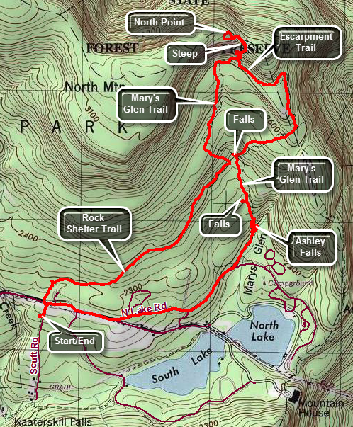 link to topo map