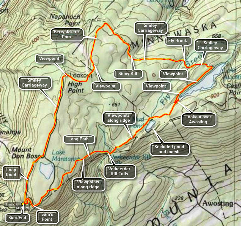 Catskill Hiker: Shawangunk Trails on hurley wisconsin snowmobile trail map, hunter mountain trail map, shawangunk mountains trail map, siuslaw national forest trail map, i&m canal bike trail map, thacher park trail map, ragged mountain ct trail map, white rock lake trail map, genesee county snowmobile trail map, mount greylock trail map, catskill trail map, rochester trail map, sam's point preserve trail map, shawangunk ridge trail map, bethpage state park trail map, phoenix mountains preserve trail map, farmington river trail map, ny rail trail map, highland trail map, minnewaska trail map,